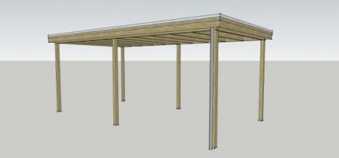 houten carport kopen